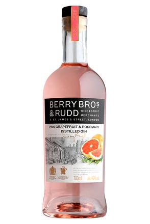 Berry Bros. & Rudd Pink Grapefruit & Rosemary Gin image