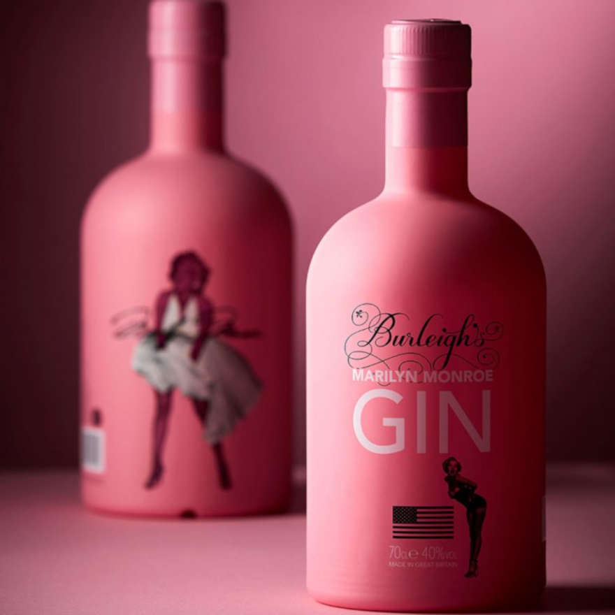 Burleigh's Marilyn Monroe Pink Gin