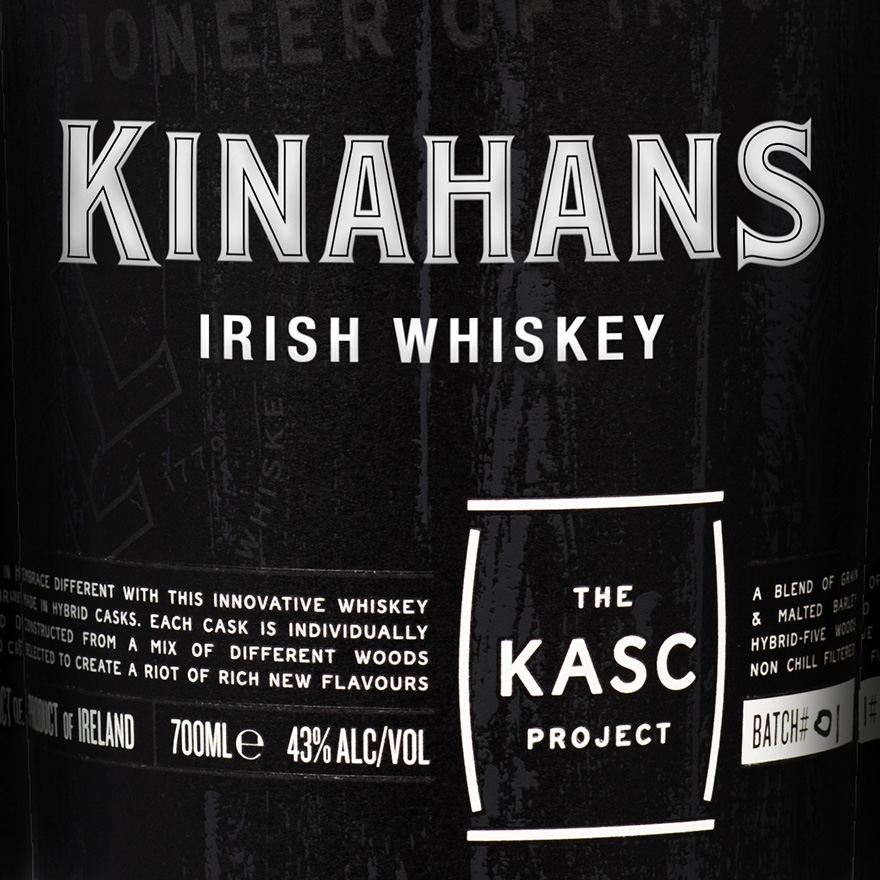 Kinahans The Kasc Project Blended Whiskey image