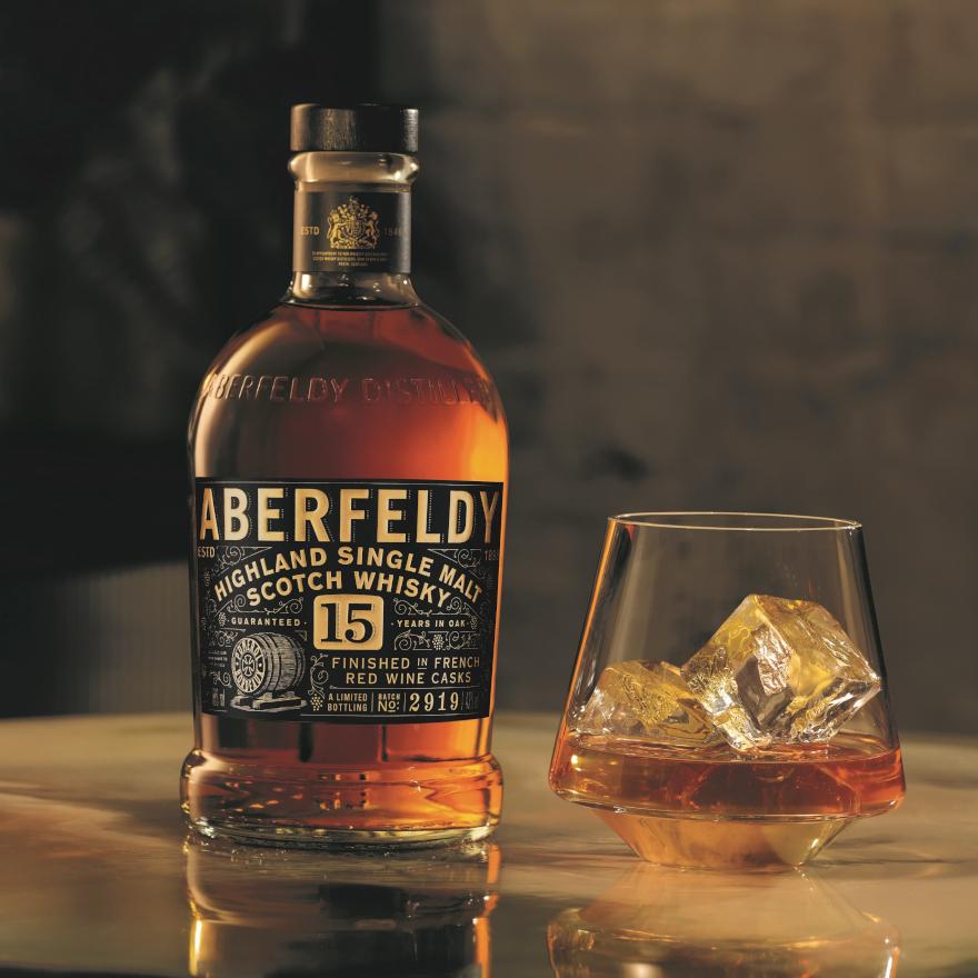 Aberfeldy 15 Year Old Pomerol Cask image