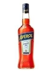 Aperol or other Italian red aperitivo