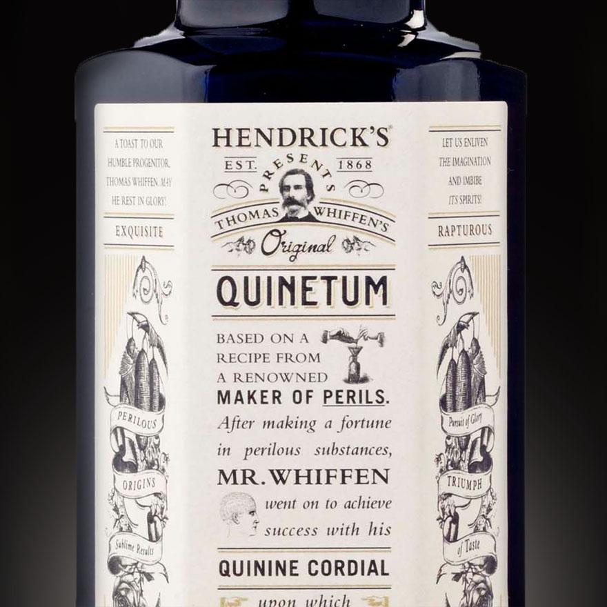 Hendrick's Quinetum Quinine Cordial image