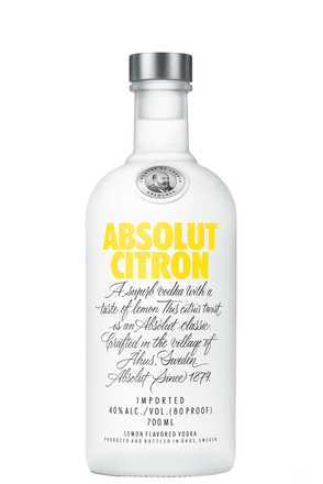 Absolut Citron image