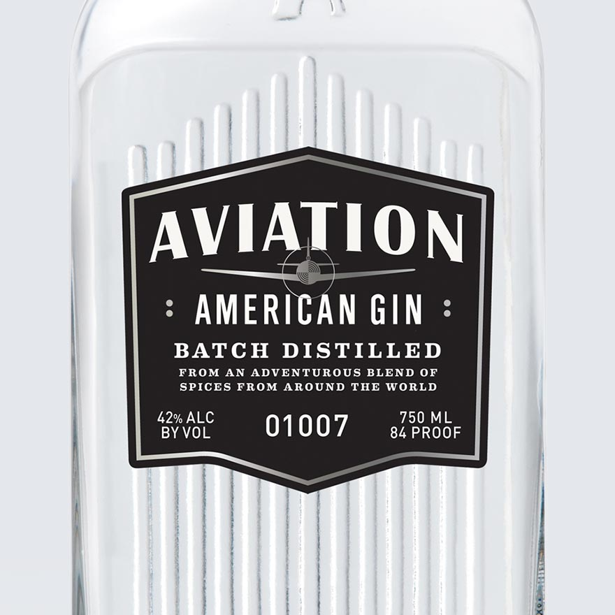 Aviation American Gin image