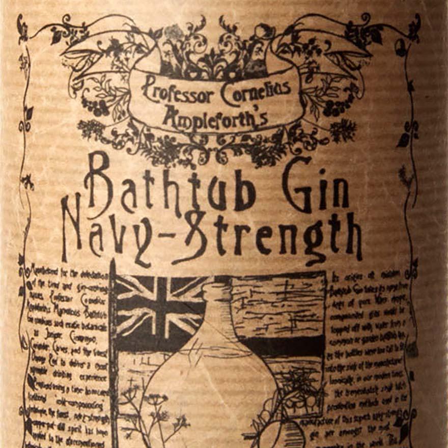 Bathtub Navy-Strength Gin image