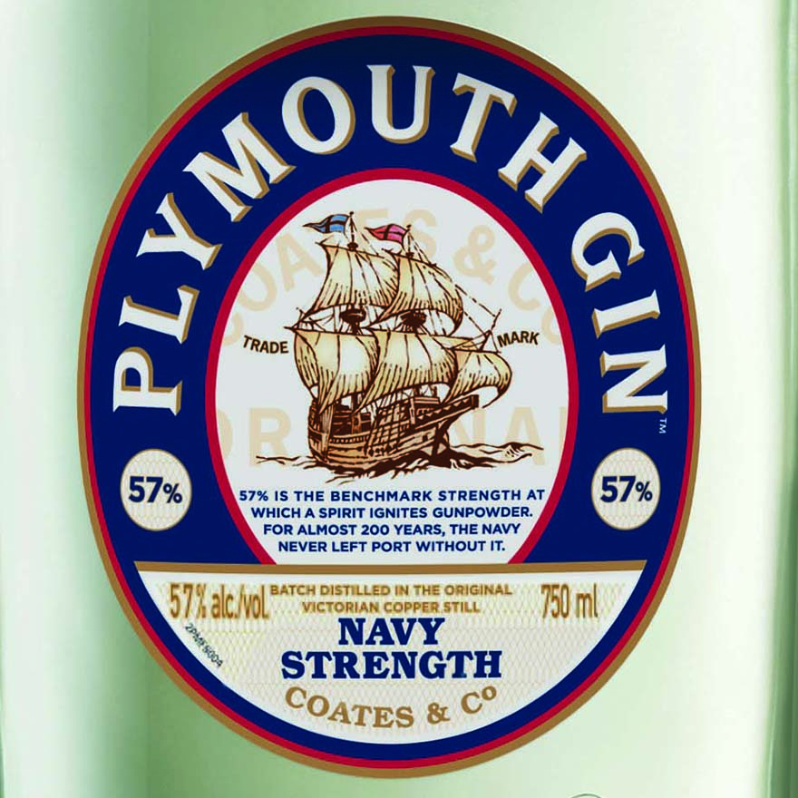 Plymouth Gin Navy Strength image