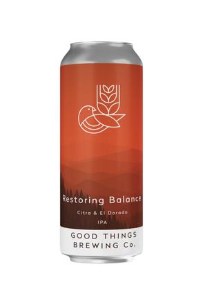 Good Things Restoring Balance IPA image