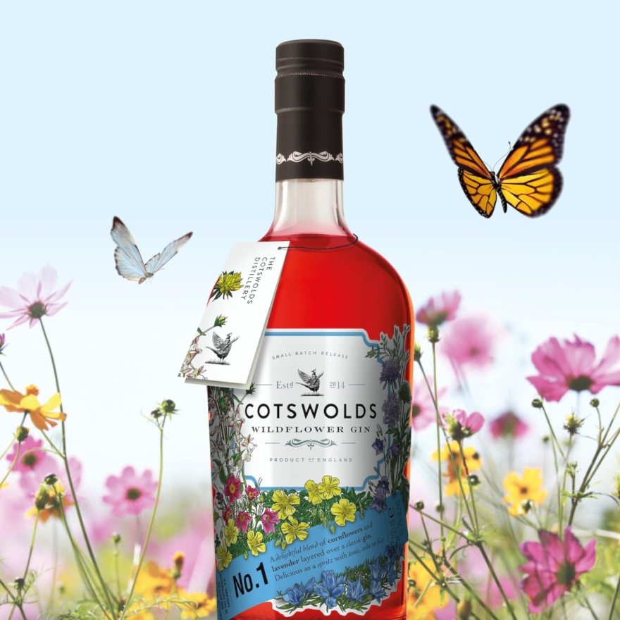Cotswolds Wildflower Gin image