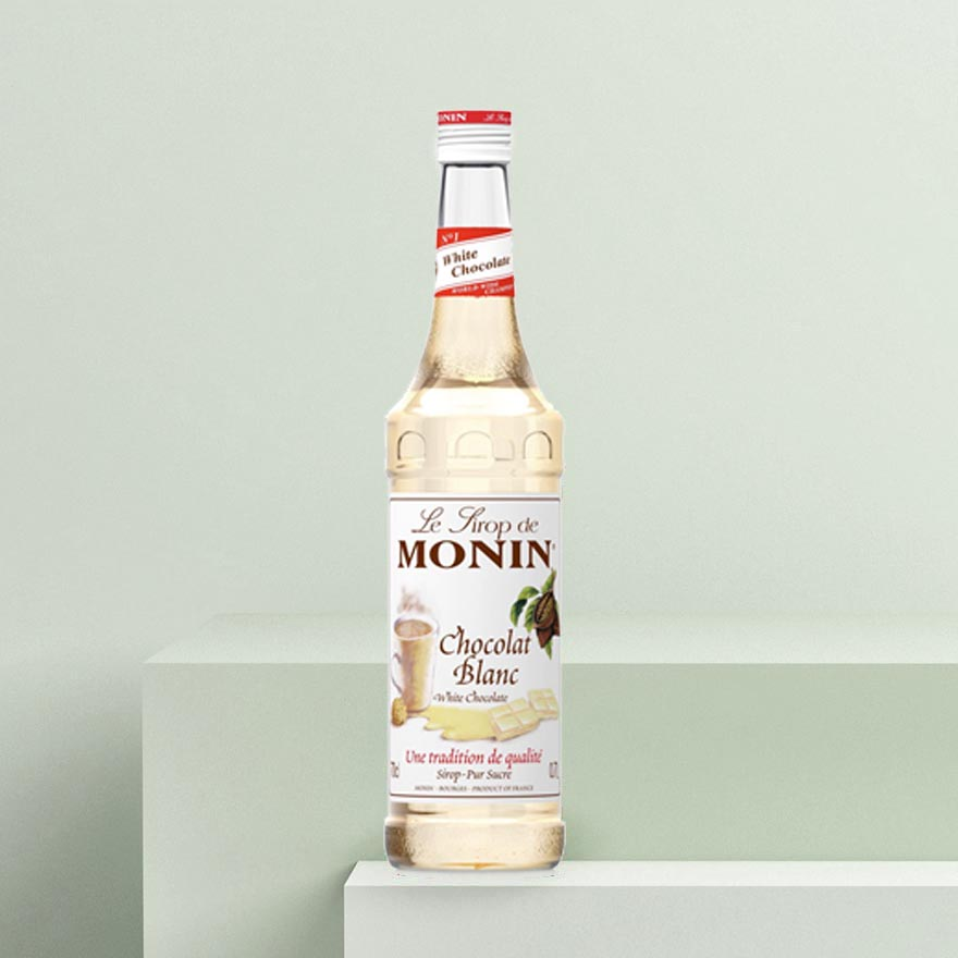 Monin White Chocolate Syrup image