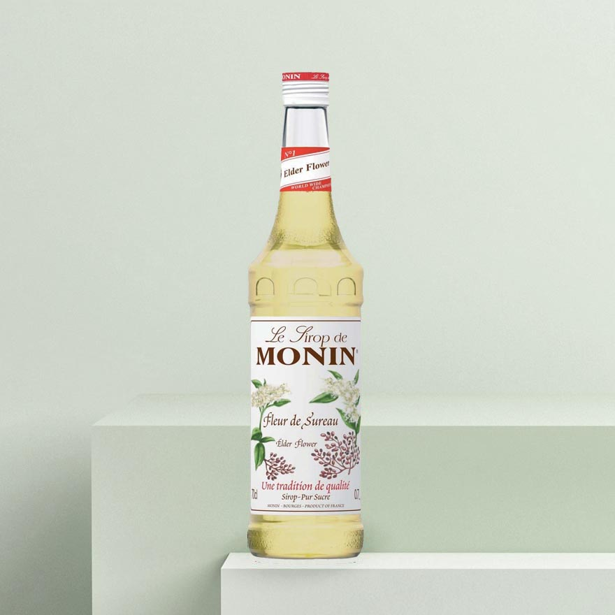 Monin Elderflower Syrup image