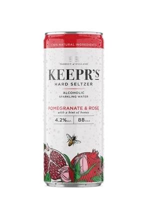 Keepr's Hard Seltzer Pomegranate & Rose image