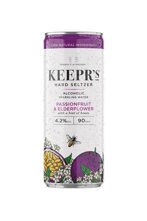 Keepr's Hard Seltzer Passionfruit & Elderflower image