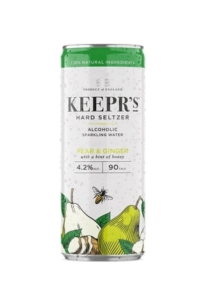 Keepr's Hard Seltzer Pear & Ginger image