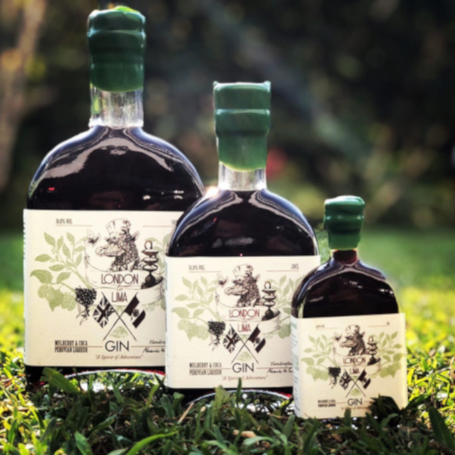 London to Lima Mulberry & Coca Gin Liqueur image