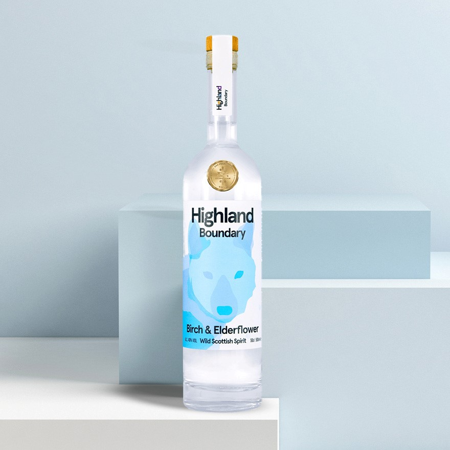 Highland Boundary Birch & Elderflower Spirit image