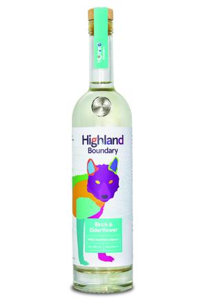 Highland Boundary Birch & Elderflower Liqueur image