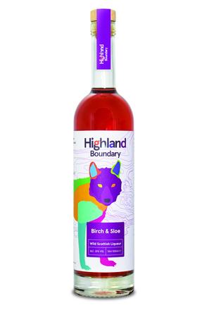 Highland Boundary Birch & Sloe Liqueur image
