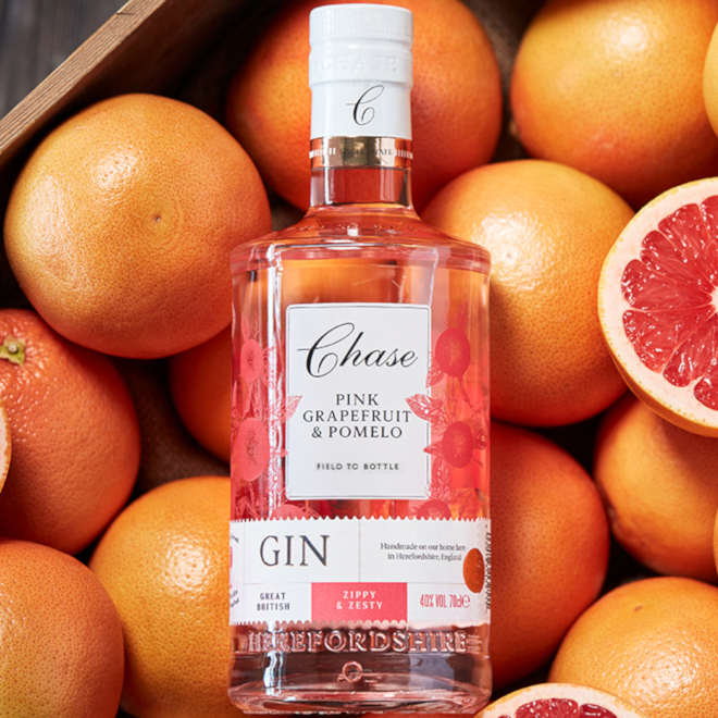 Chase Pink Grapefruit & Pomelo Gin image