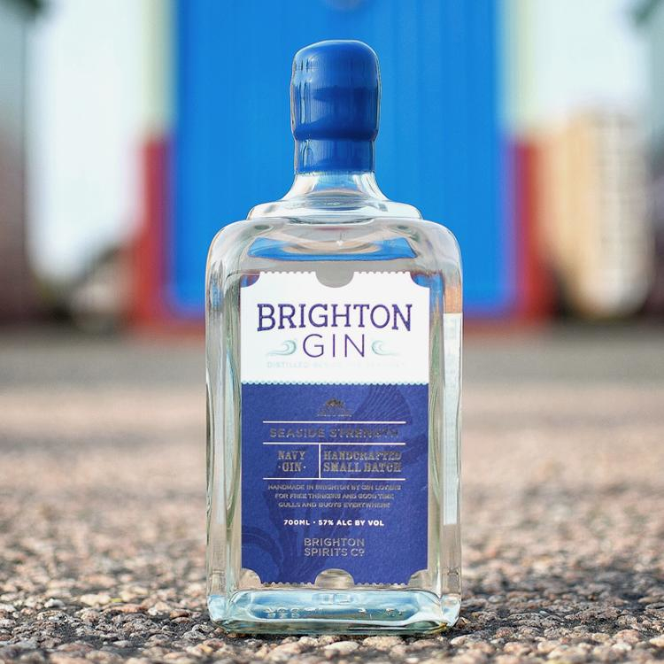 Brighton Gin Seaside Strength image