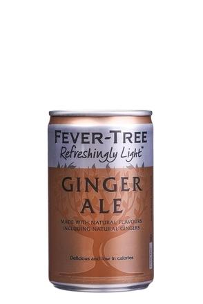 Fever Tree Refreshingly Light Ginger Ale image