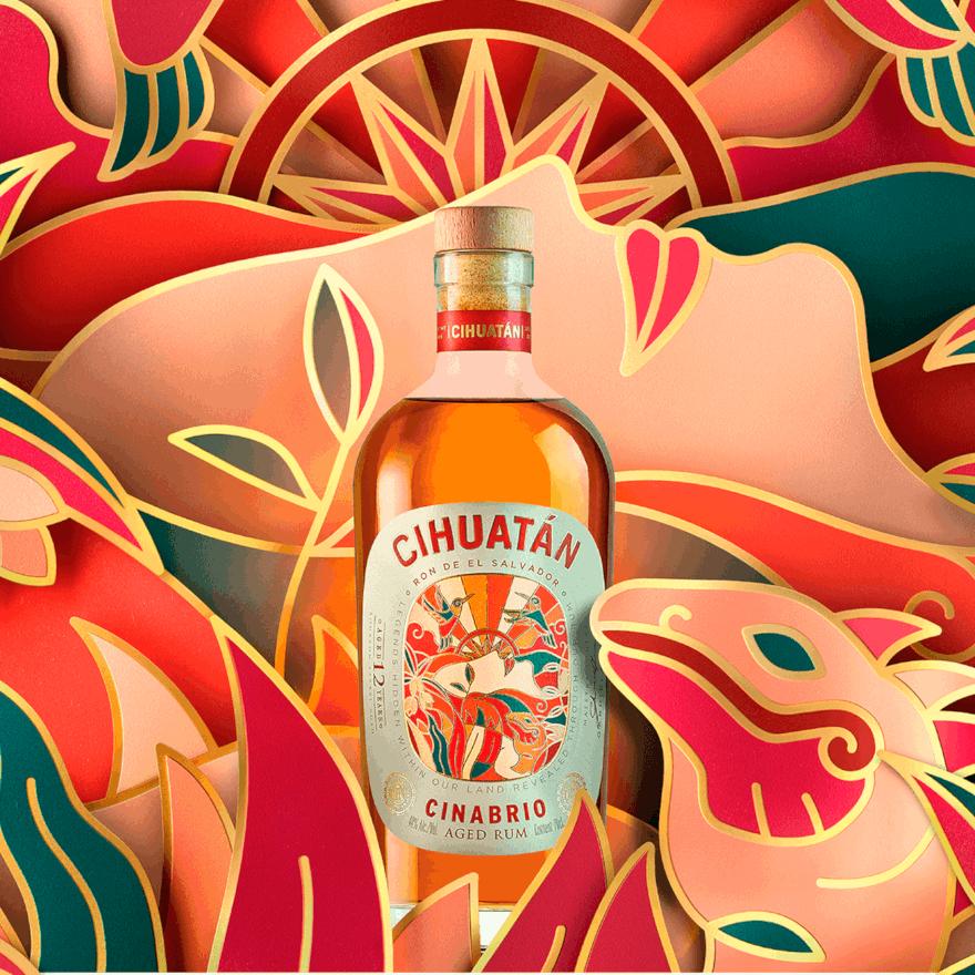 Cihuatán Cinabrio 12 Years Old Rum image