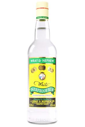 Wray & Nephew White Overproof Rum image