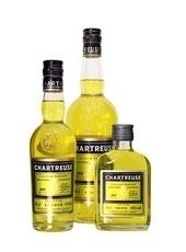 Yellow (Jaune) Chartreuse liqueur