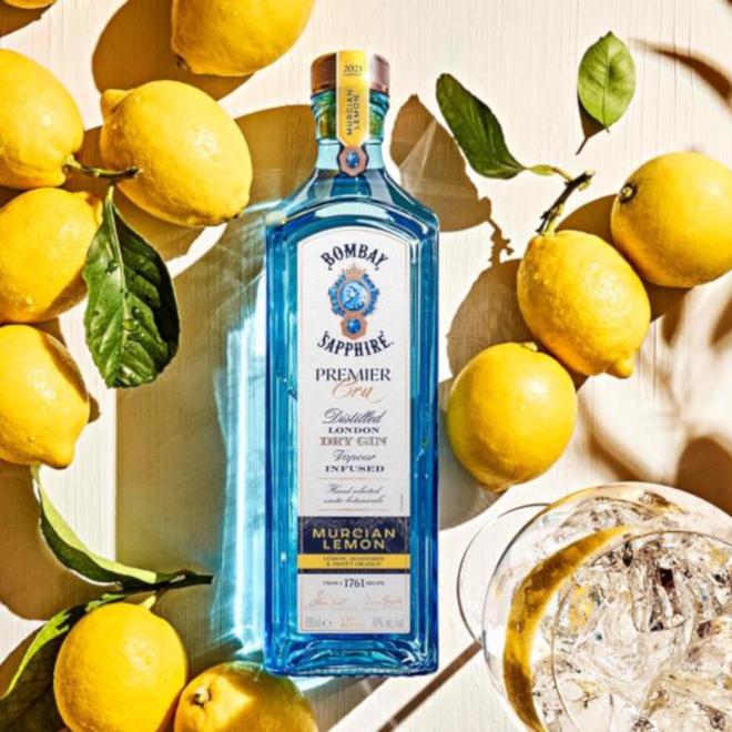 Bombay Sapphire Murcian Lemon image