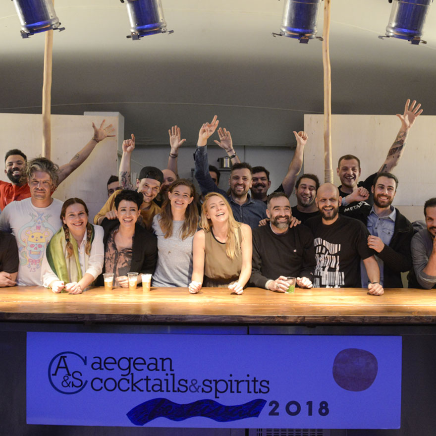 Aegean Cocktails & Spirits Workshop 2018