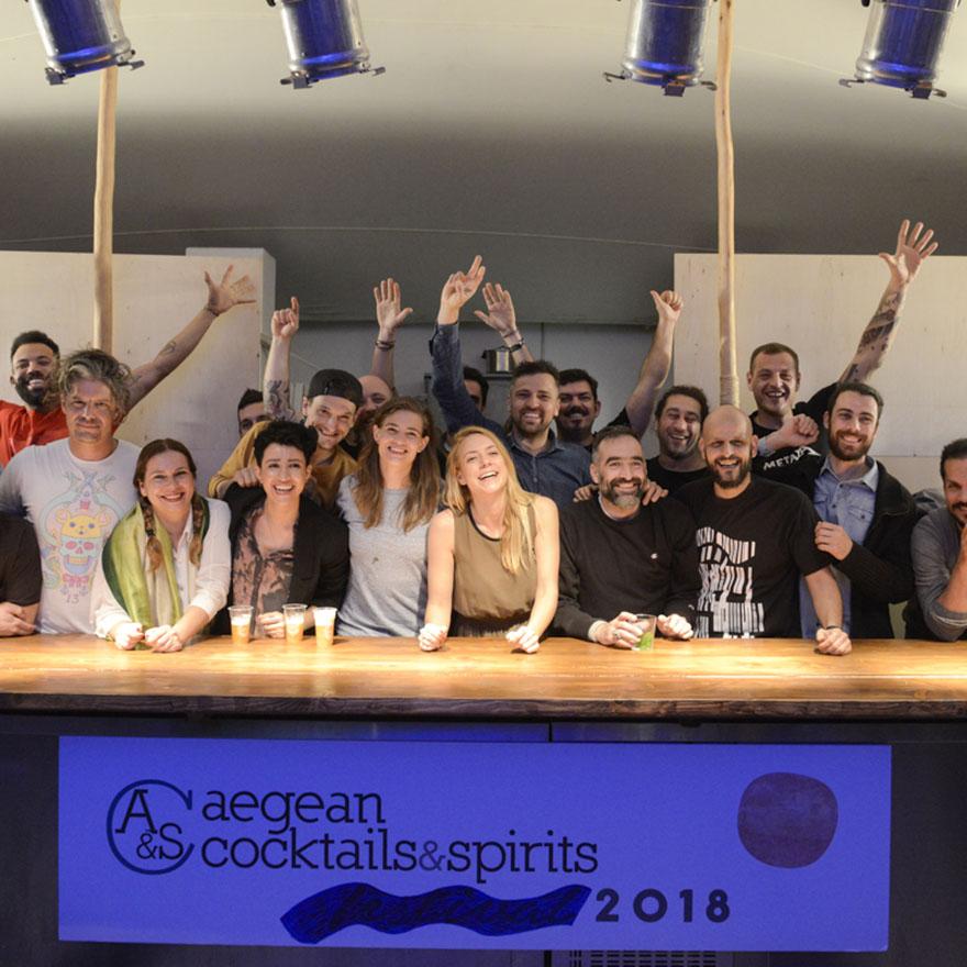 Aegean Cocktails & Spirits Workshop 2018 image