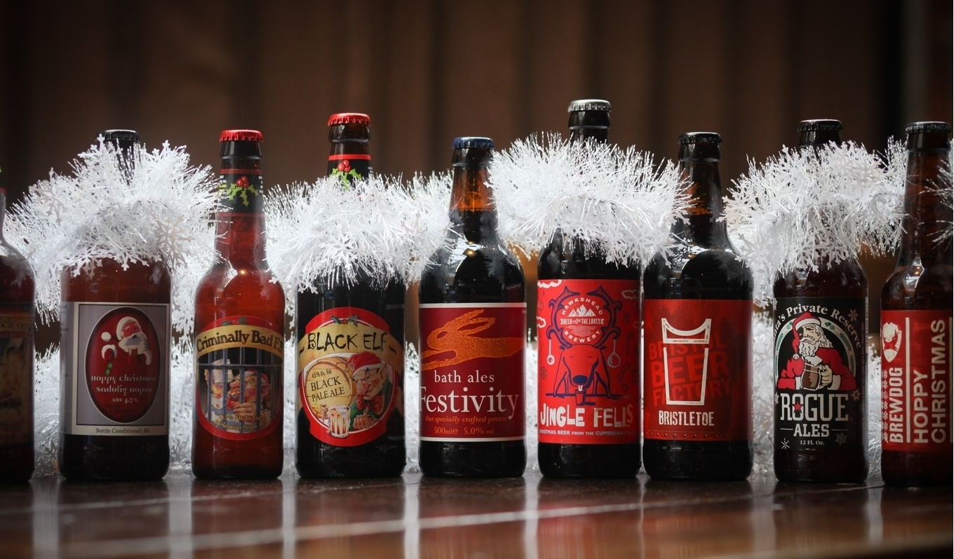 Winter and Christmas beers image 1