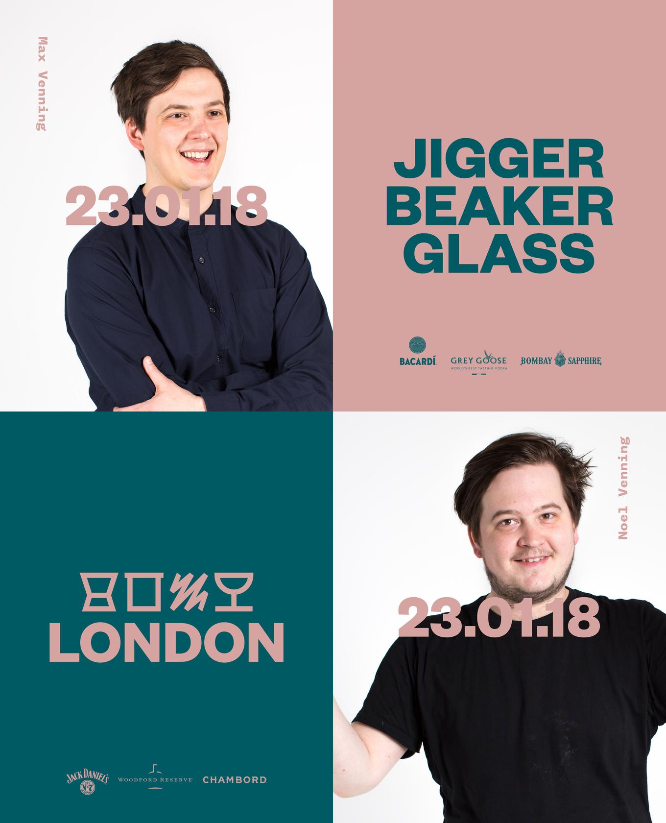 Jigger Beaker & Glass with Erik & Ice image 1