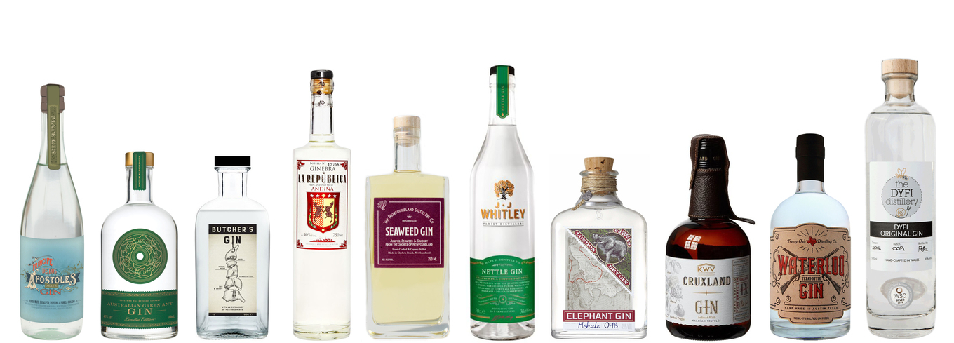 10 Weird and Wonderful Gins from Around the World image 1