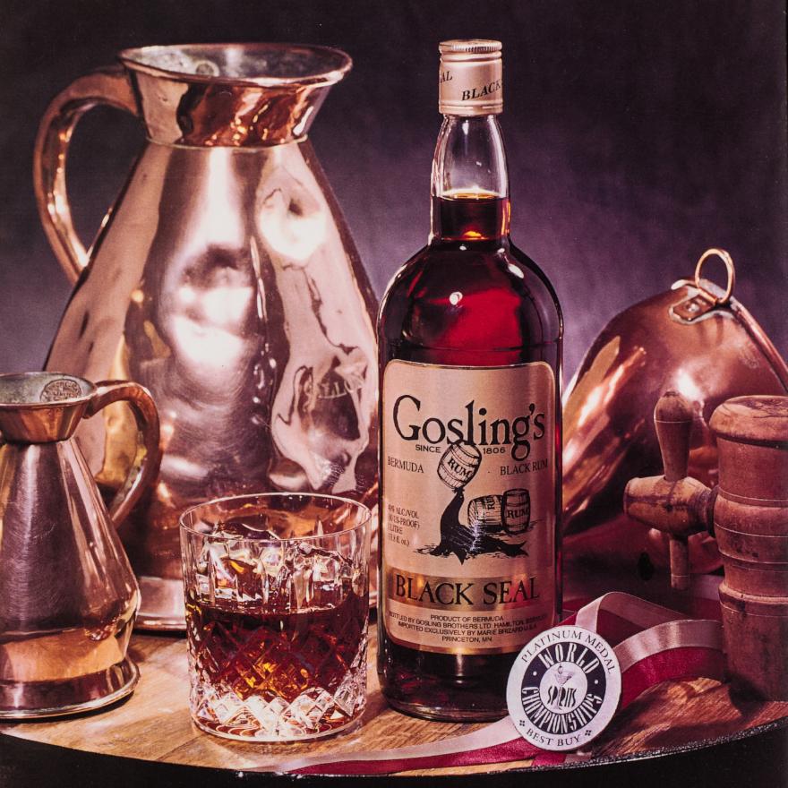 Rum - Black & dark rums