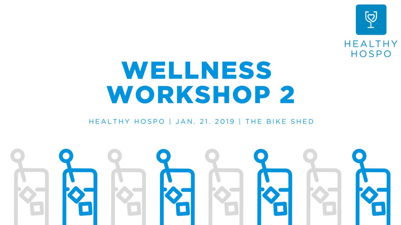 Healthy Hospo Wellness Workshop image 1
