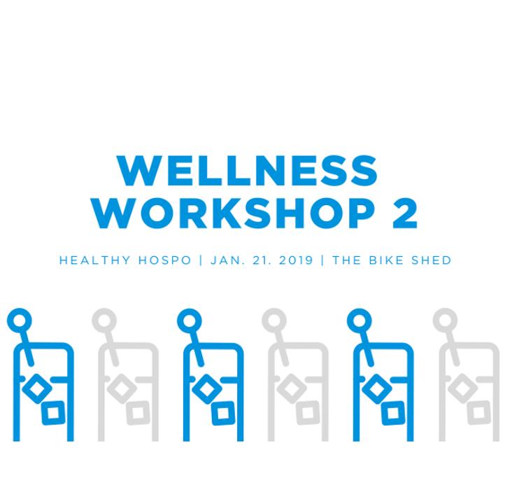 Healthy Hospo Wellness Workshop image