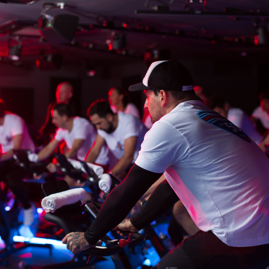Indoor cycling classes image