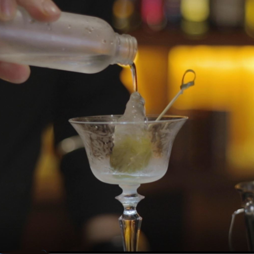 Supercooled Dry Martinis