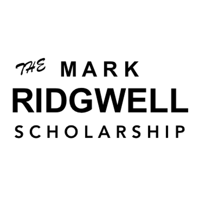 Mark Ridgwell Scholarship image