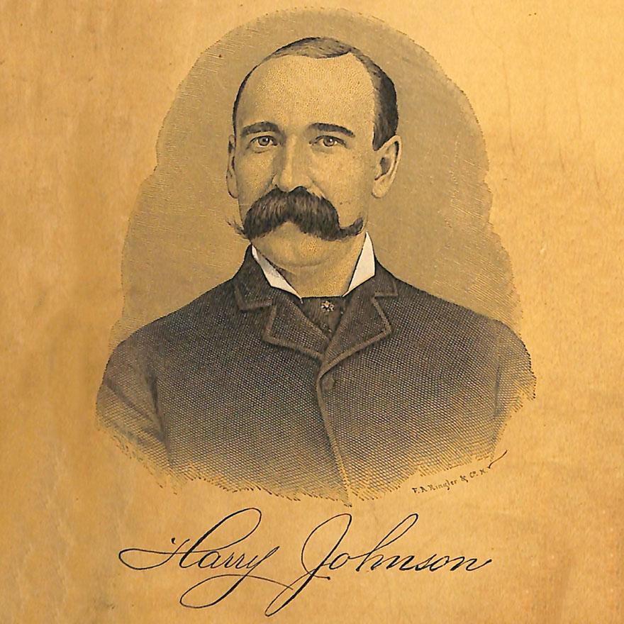 Harry Johnson's birthday image