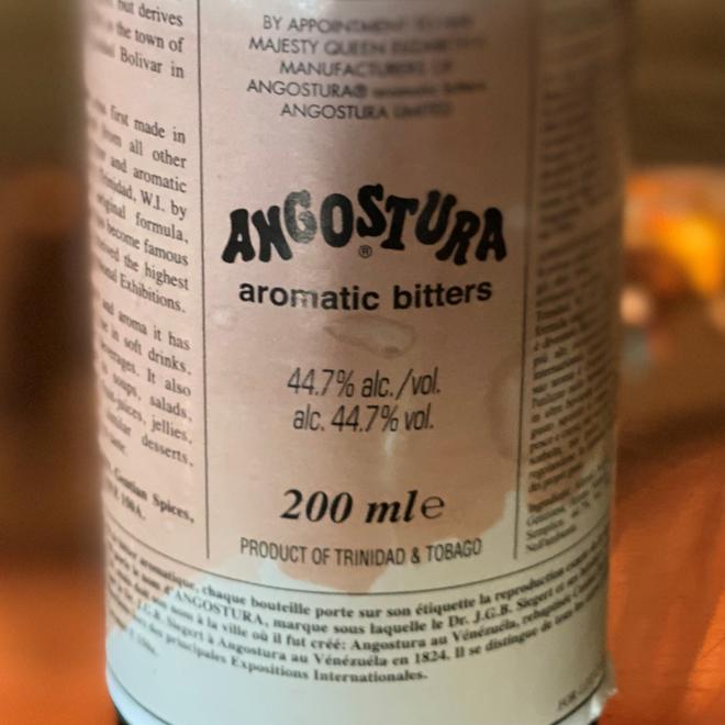 Angostura & Angostura-style aromatic bitters