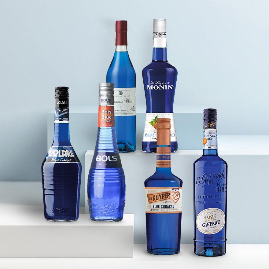 Blue Curaçao liqueurs image