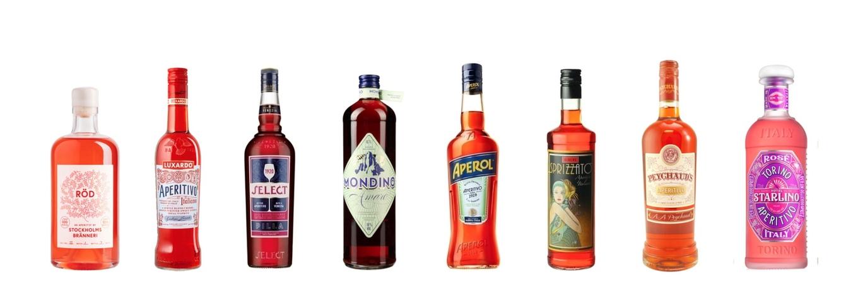 Red aperitivo liqueurs image 1