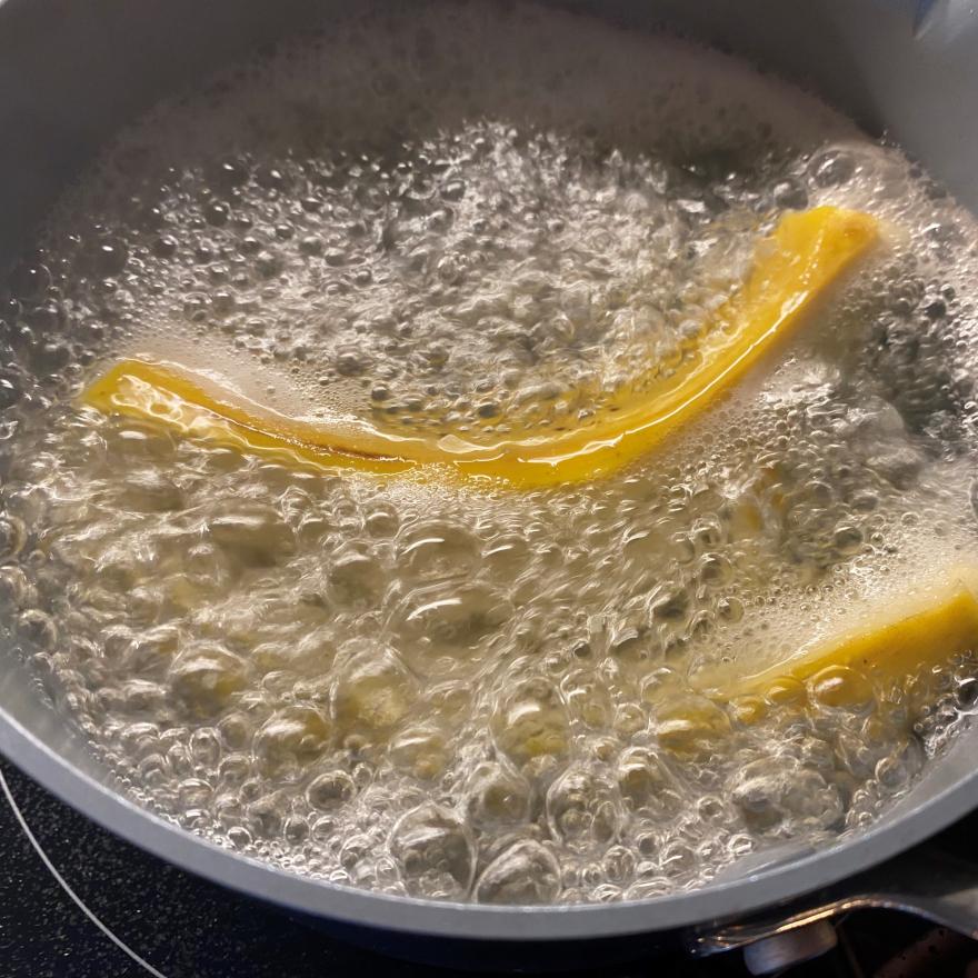 Banana tea image
