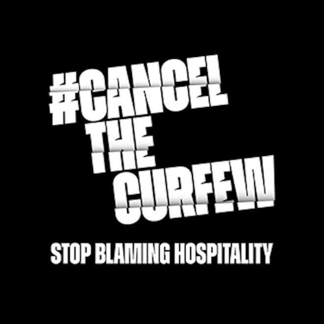 #CancelTheCurfew image