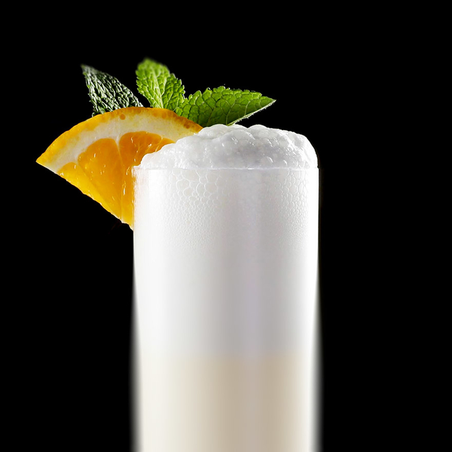 Ramos Gin Fizz cocktail image