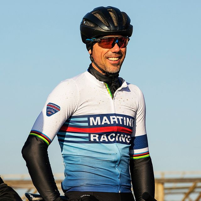 Winter miles, summer smiles! ⁠ Great day out in the woods under a nice and warming sun, especially if you share it with former cyclocross World Champion @svennys.⁠ #details #worldchampjersey⁠ .⁠ .⁠ .⁠ .⁠ #martiniracingciclismo #martiniracing #martini #vermouth #ciclismo #cycling #cyclingpics #cyclingphotos #cyclinglove #cyclinglife #cyclistlife #bike #health #wellbeing #training #fitlife #sportersbelevenmeer #worldchampion #champion #crossisboss #cyclocross #veldrijden #svennys #kannibaalvanbaal #svennyscyclingcenter #wintermilessummersmiles #wintermiles #outsideisfree⁠ .⁠ Photography by @jeanvancleemput