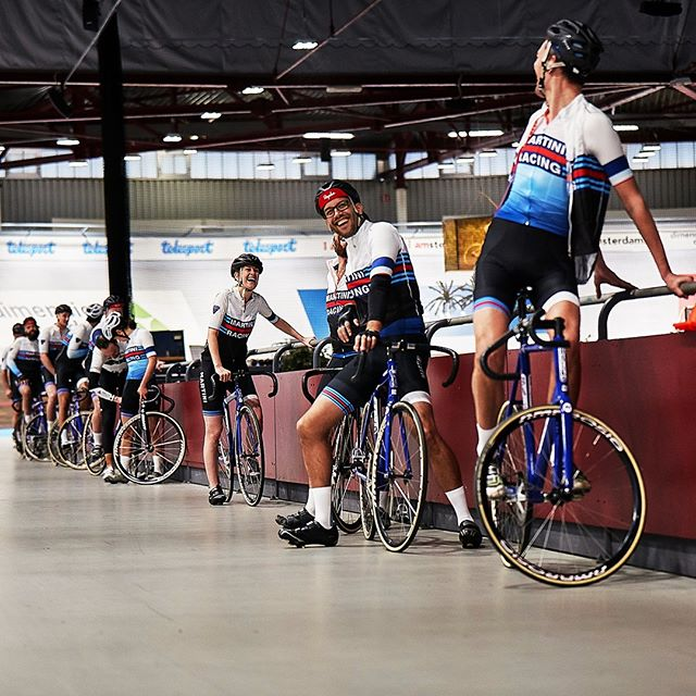 Keeping the bar but not the one we're used to! Team NL getting ready to smash the @velodromeamsterdam ⁠ .⁠ .⁠ .⁠ .⁠ .⁠ #martini #martiniciclismo #martiniracingciclismo #vermouth #aperitivo #bartenders #hospitality #lifebehindbars #ciclismo #cycling #cyclingpics #cyclingphotos #cyclinglove #cyclinglife #cyclistlife #bike #health #wellbeing #training #getfit #fitlife #sportersbelevenmeer #trackcycling #amsterdam #velodrome #velodromeamsterdam #teamNL