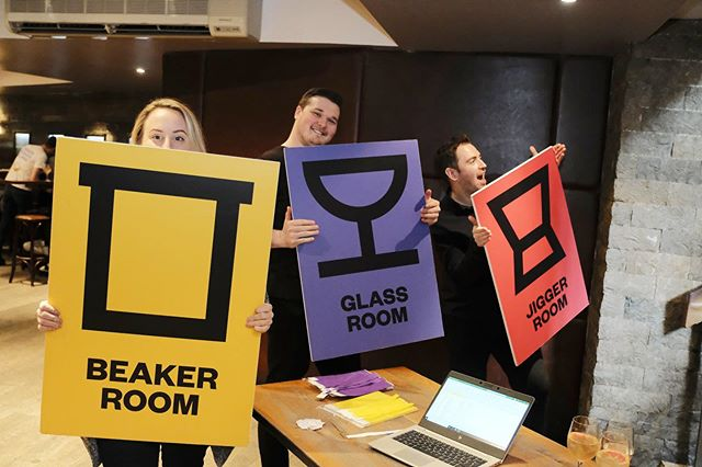 Jigger, Beaker & Glass have rolled into a cold and windy Leeds, but have been greeted warmly by the hospitality community. Productivity is the topic of the day spread across four partner bars. @jakesbarandstill @oportobarleeds @neoncactus and @liquorstudioleeds . . . .  #jiggerbeakerandglass #leeds #bartenders #cocktails #bars  #productivity #bbfb #JBG #education