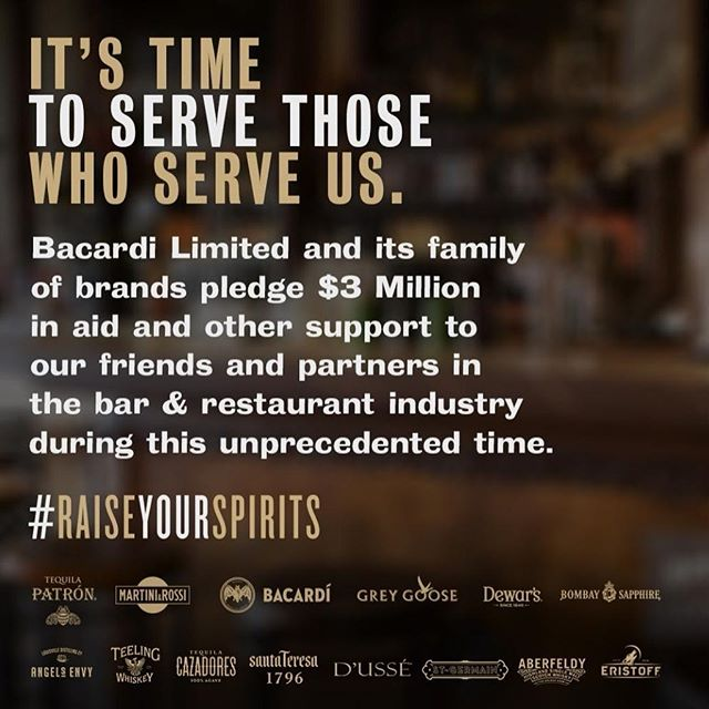 Thank you for everything you do. It's time to serve you. #raiseyourspirits
